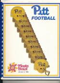 1984 Pitt football Fiesta bowl press guide