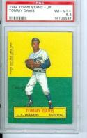 1964 Topps Stand up Tommy Davis  psa 8.5  #2 graded!