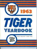 1963 Detroit Tiger Baseball Yearbook em-nm