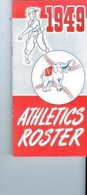 1949 Athletics a's roster em