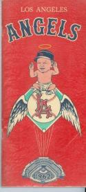 1962 Los Angeles Angels Press Guide 2nd yr near mint