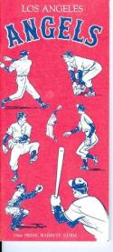 1964 Los Angeles Angels Press Guide near mint (bx - guide)