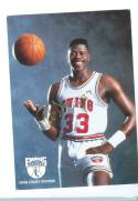 Patrick Ewing Athletic Footwear Promotional card Signed