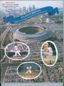 1982 NLCS braves cardinals program