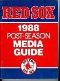 1988 Boston Red Sox post season guide near mint