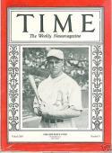 7/29/1929 Jimmy Foxx A's Time Magazine