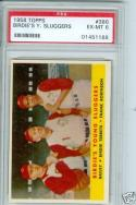 1958 Topps Birdies sluggers #386 psa 6 robinson