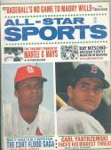 1968 aug All Star Sports Carl Yastrzemski Curt Flood