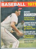 1971 Baseball Dell Yearbook Brooks Robinson Orioles nm