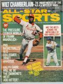 1972 may All Star Sports Bob Gibson Cardinals