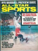 1975 may All Star Sport Lou Brock Cardinals