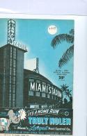 3/8 1958 first LA Dodgers game  ever spring training Miami Stadium Program
