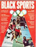 1971 September Black Sports magazine 1972 olympics