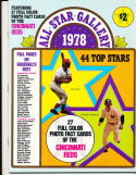 1978 All Star Gallery 27 full cards  Thurman Munson magazine