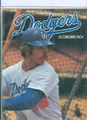 1977 NLCS Game program Dodgers Phillies Championship