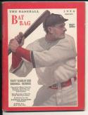 1924 Baseball Bat Bag Dope Book annual yearbook