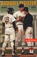 1968 Baseball Register Sporting News Red Sox