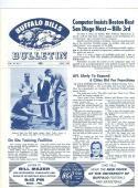 1962 July Buffalo Bills Bulletin newsletter