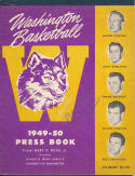 1949 University of washington Basketball Press Guide