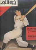 Joe dimaggio Yankees Colliers Magazine 7/27 1946 em