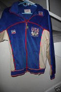 Sam Bowie 1980 Game Used Olympic Basketball Warm Up