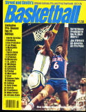 1977 -78 Street Smith Basketball yearbook Guide Julius Erving Sixers