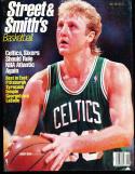 1987 Street Smith Basketball yearbook Guide Larry Bird Boston Celtics