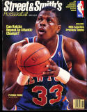 1989 Street Smith Pro Basketball yearbook Guide Patrick Ewing Knicks