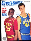 1990 Street Smith Basketball yearbook Harold Miner USC vs UCLA Don Maclean