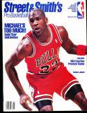 1990 Street Smith Pro Basketball yearbook Guide Michael Jordan chicago Bulls