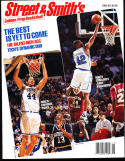 1994 Street Smith Basketball yearbook Guide Duke vs North Carolina Stackhouse