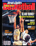 1995 Street Smith Basketball yearbook Guide Tim Duncan Wake Forest
