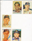 Cal Mclish Cleveland Indians 364  SIGNED 1957 topps card