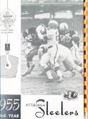 1955 Pittsburgh Steelers  Football Press media Guide      bx fg1