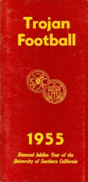 1955 USC Football Press Media Guide nm   f21