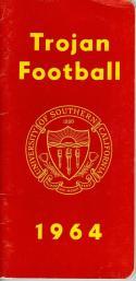 1964 USC Football Press Media Guide em (crease at top)  CFBmg18