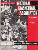 The Sporting News NBA 1966 Guide Lakers Elgin Baylor