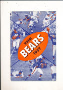 1957 Chicago Bears yearbook press guide em/nm