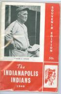1948 Indianapolis Indians Yearbook  Rare