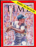 1959 8/24 Time Magazine Rocky Colavito no label newsstand cleveland Indians em