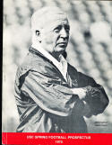 1975 USC Spring Football Prospectus John McKay Guide CFBmg18