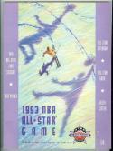 1993 NBA basketball all Star Game Program nm
