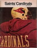 New Orlean Saints vs. St. Louis Cardinals - September 1968 Program