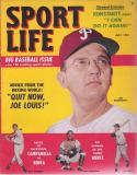 Sport Life July 1951 Magazine | Jim Konstanty - Phillies em