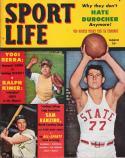 Sport Life March 1951 Magazine | Yogi Berra -Yankees | Sam Ranzino - NC State