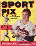Sport Pix June 1949 Magazine   Bob Feller - Indians