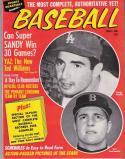 Sports Quarterly Baseball 1964   Sandy Koufax   Carl Yastrzemski