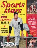 Sports Stars April 1950 Magazine   Joe DiMaggio - Yankees