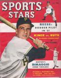 Sports Stars October 1950 Magazine | Ralph Kiner - Pirates