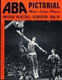 1968 American Basketball Association ABA Pictorial Yearbook  Magazine